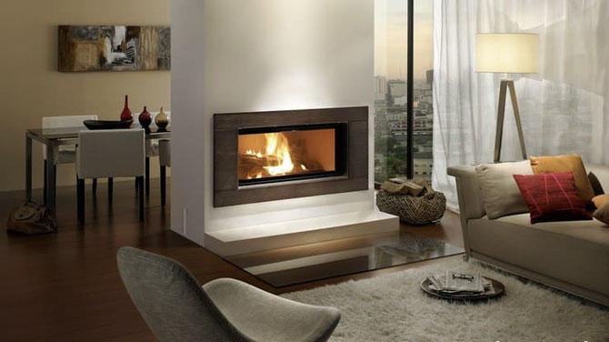 Offener Kamin im Wohnzimmer - ©  MB Fire