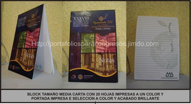 BLOCK TAMAÑO MEDIA CARTA CON 20  O MAS HOJAS 901