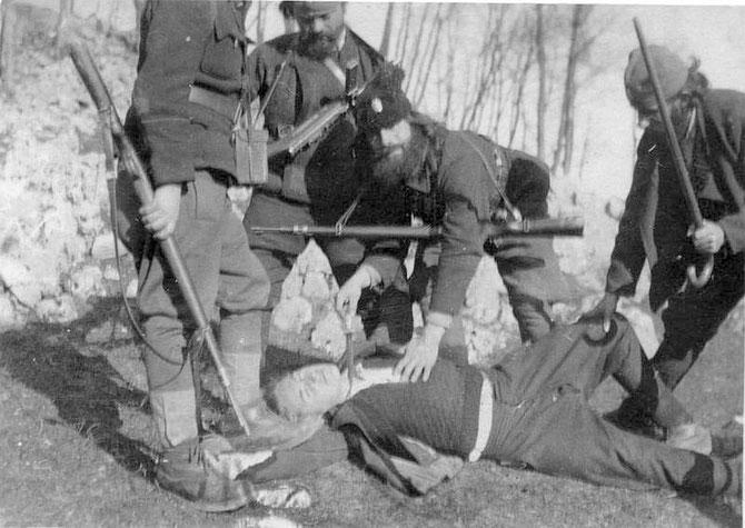 Slikovni rezultat za četnici drina 1941 zločini