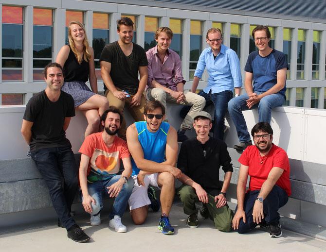 2017 Delft team | Becca, Cristian, Jochem, Patrick, Stan, Oliver Franklin, Benjamin, Sebastian, Cristobal. Not in picture: Anna, Tim, Marnix