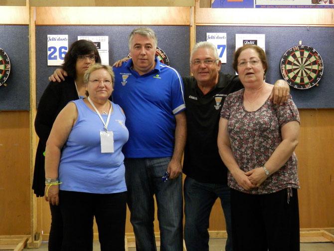Gemma,Pepi,Domingo,Antonio e Isabel. Esplugues .C.D