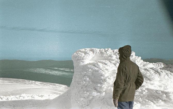 Масленников на вершине Холатчахля