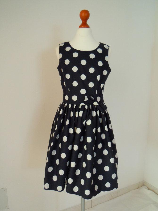 Kleid Style 50Jahre aus Baumwolle