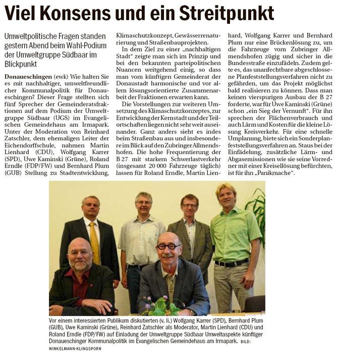 Südkurier 21.Mai 2014