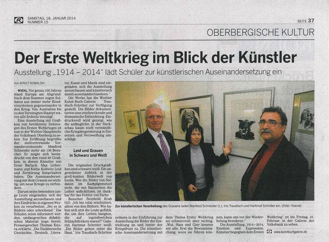 Oberbergische Volkszeitung, 18.01.14