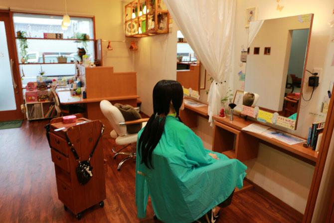 西舞鶴 ヘアドネーション 髪のボランティア