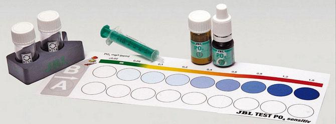 Bei Phosphatkonzentrationen über 0,2 mg/l kann das Aquariensystem aus dem Gleichgewicht geraten. Foto: JBL