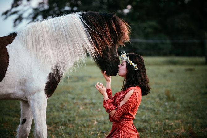 Pferd, Beziehung. Vertrauen. Lieblingspferd, Geschenkideen, Lavylites