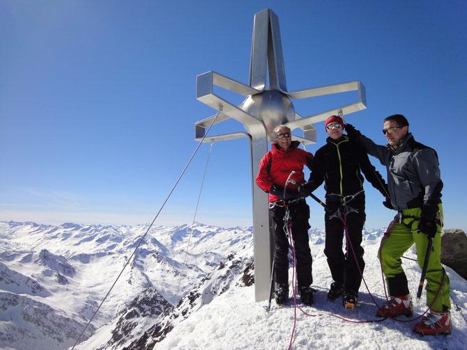 Zuckerhütl in den Stubaier Alpen 2014
