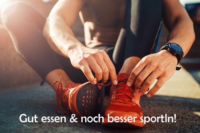 Leistungsverbesserung beim Sport - Gut essen & noch besser sportln!