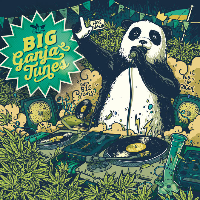 big ganja tunes 2016, BIG Seeds marihuana reggae tunes compilation
