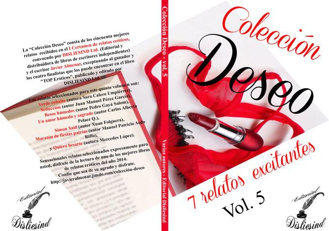 Colección Deseo - Vol. 5. Editorial Disliesind Ltd.
