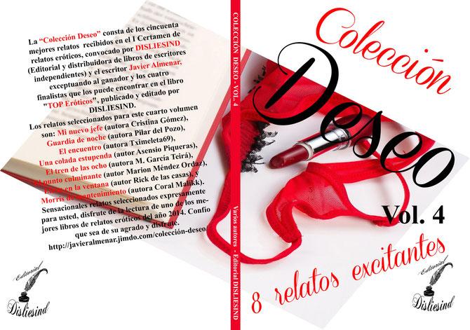 Colección Deseo - Vol. 4. Editorial Disliesind