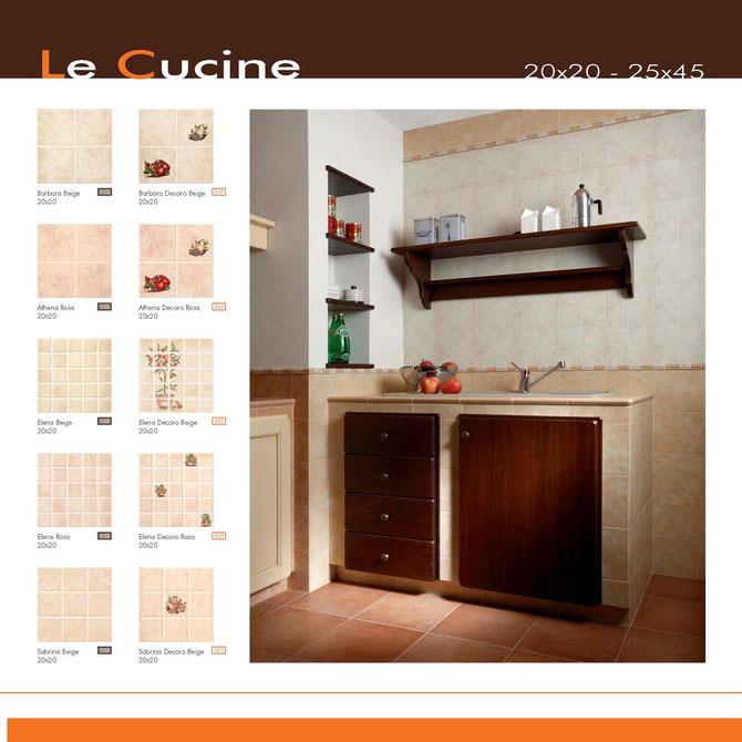 rivestimenti cucine 20x20