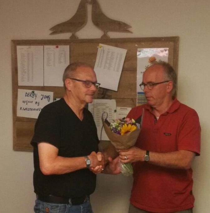 Wessel Regtop en Bert van Guldener zijn de overwinnaars in het onaangewezen-, aangewezen- en duifkampioenschap