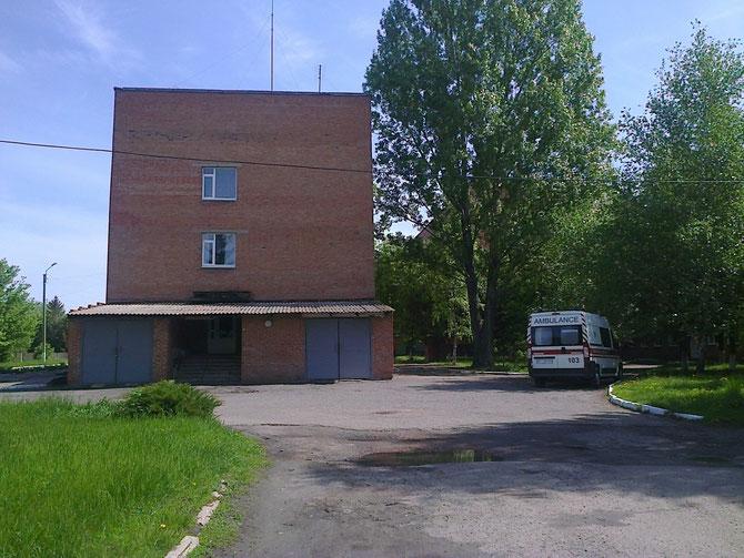 """Чутівська """"швидка допомога"""" оновила рухомий склад. Фото Юрія Зіненка"""