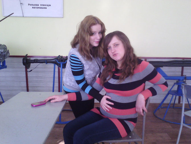 "Тетяна - справа. Фото - ""Однокласники"""