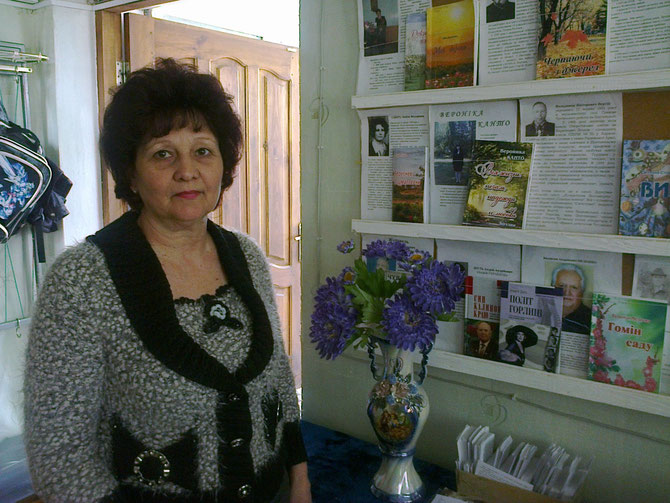 Галина Петрівна знає про читачів усе