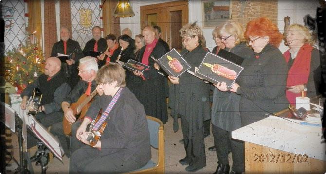 Weihnachts-Auftritt in Walkenried