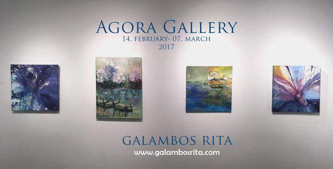 Galambos Rita Agora Gallery New York Painting hungarian Artist Feldkirch Vorarlberg