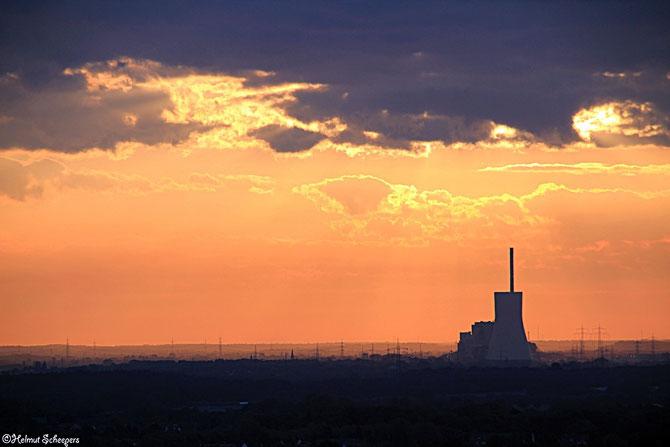 Sonnenaufgang Halde Norddeutschland_3