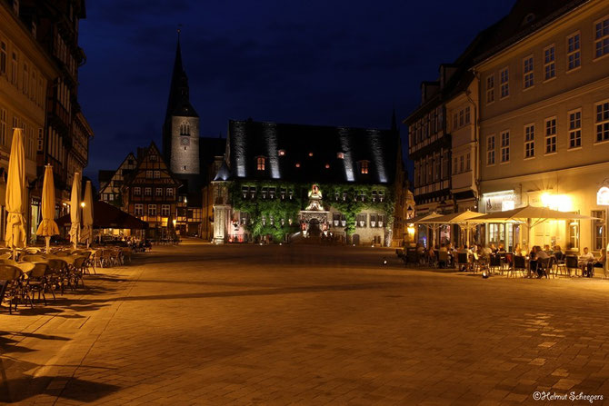 Quedlinburger Markplatz