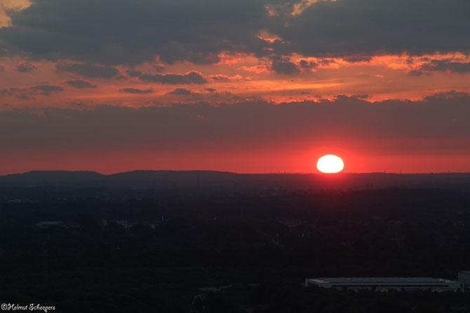 Sonnenaufgang Halde Norddeutschland_1