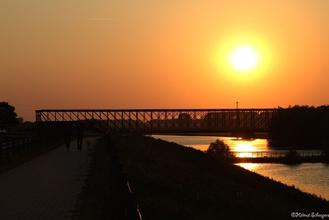 Sonnenuntergang Griethausen_1
