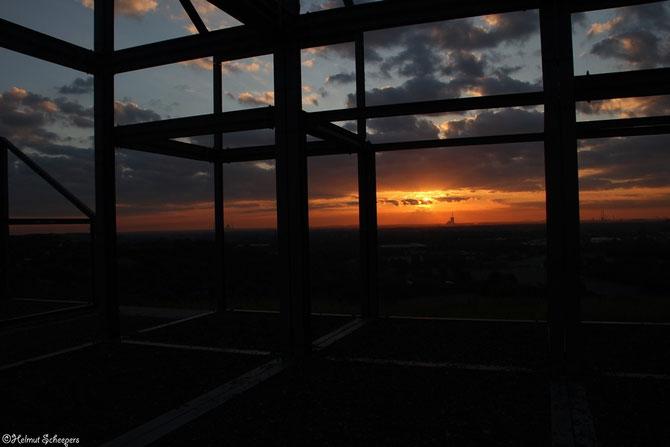 Sonnenaufgang Halde Norddeutschland_2