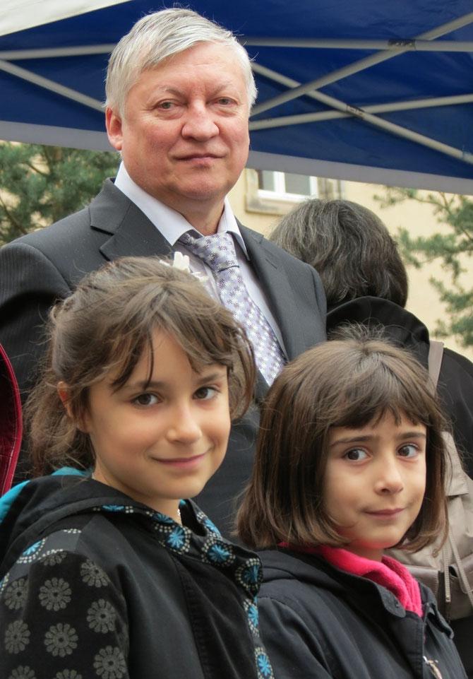 Anatoly Karpov, Hélina et Axelle