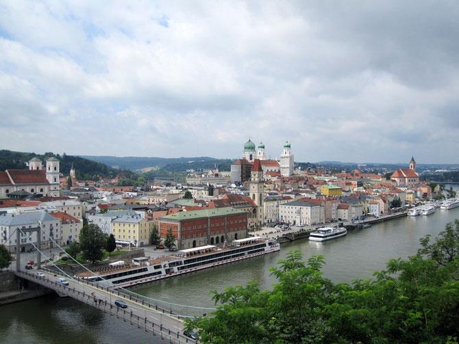 Altstadthalbinsel, Passau