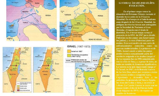 El conflicto árabe-israelí.