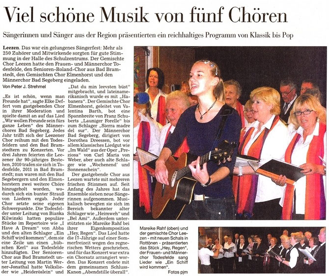 © 2o12 Segeberger Zeitung
