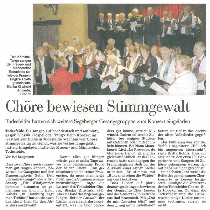 © 2o14 Segeberger Zeitung