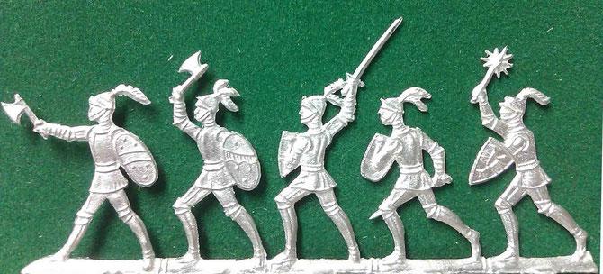 30mm Reihenfiguren aus der ehemaligen Offizin Paul Schulze Berlin