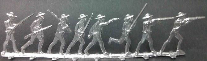 28mm Reihenfiguren, unbekannte Offizin