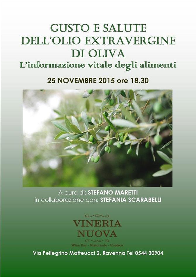 proprietà dell'olio di oliva e l'informazione vitale degli alimenti
