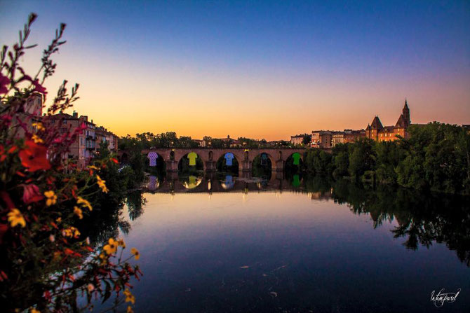 Pont-vieux à Montauban, Tarn et garonne.