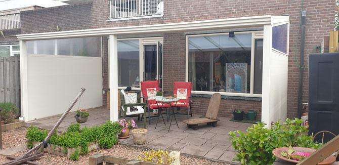 Almere veranda creme wit
