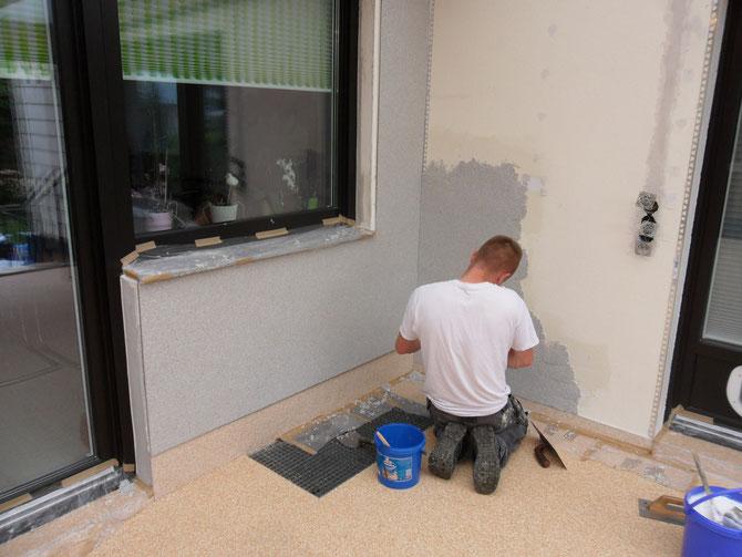 untergrund f r steinteppich steinteppich grundierung steinteppich verlegen lassen. Black Bedroom Furniture Sets. Home Design Ideas