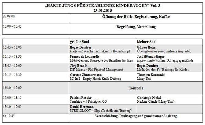 Krav Maga - Combatives Hanau - Harte Jungs für strahlende Kinderaugen Vol. 03