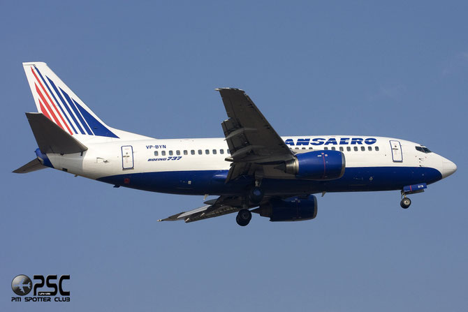 Boeing 737 - MSN 28924 - VP-BYN @ Aeroporto di Verona © Piti Spotter Club Verona