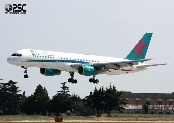 Boeing 757 - MSN 33100 - G-OOBE  @ Aeroporto di Verona © Piti Spotter Club Verona