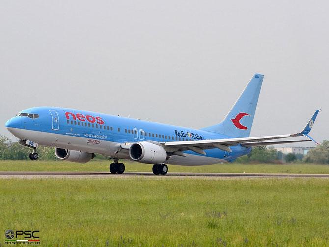 I-NEOW B737-86N 32685/2186 Neos (scimitar winglets) @ Aeroporto di Verona © Piti Spotter Club Verona