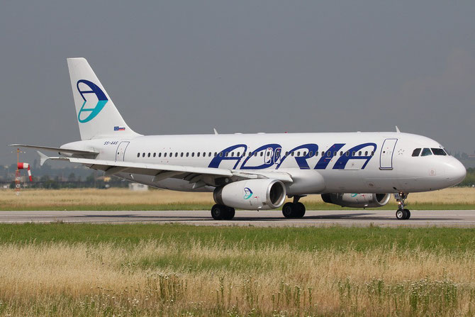 S5-AAS A320-231 444 Adria Airways