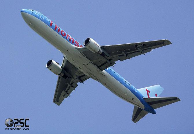 Boeing 767 - MSN 28041 - G-OBYC @ Aeroporto di Verona © Piti Spotter Club Verona