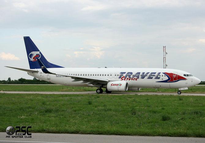 OK-TVF B737-8FH 29669/1692 Travel Service @ Aeroporto di Verona © Piti Spotter Club Verona