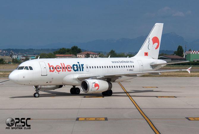 F-ORAG A319-132 1098 Belle Air