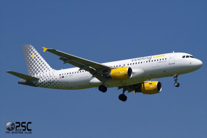 Airbus A320 - MSN 2104 - EC-JFH @ Aeroporto di Verona © Piti Spotter Club Verona