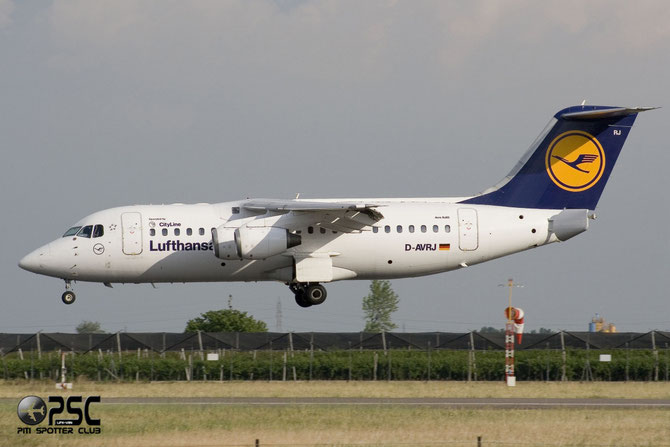 BAe 146 / Avro RJ - MSN 2277 - D-AVRJ @ Aeroporto di Verona © Piti Spotter Club Verona